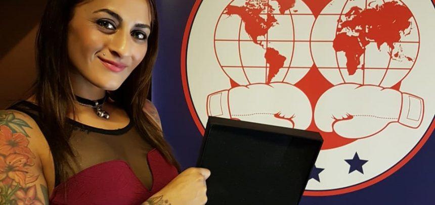 Débora Dionicius: Mejor Boxeadora del Año de la FIB