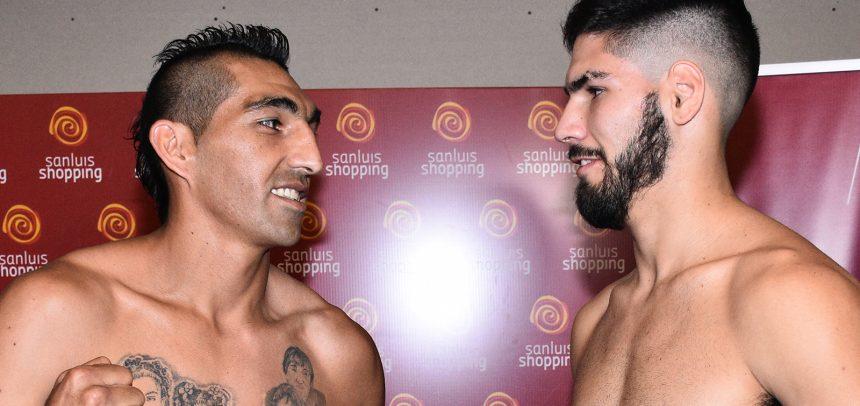 Aumada y Martínez en peso por el título en San Luis