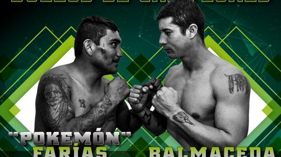 Farías y Balmaceda unifican títulos este sábado en Luis Guillón