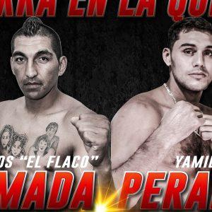 Aumada expone ante Peralta este sábado en Huracán