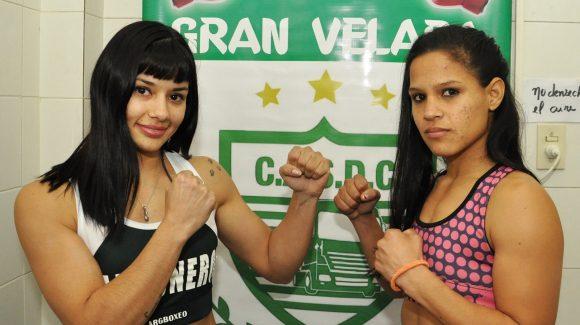 Anahí López and Débora Gómez make weight in Luis Guillón