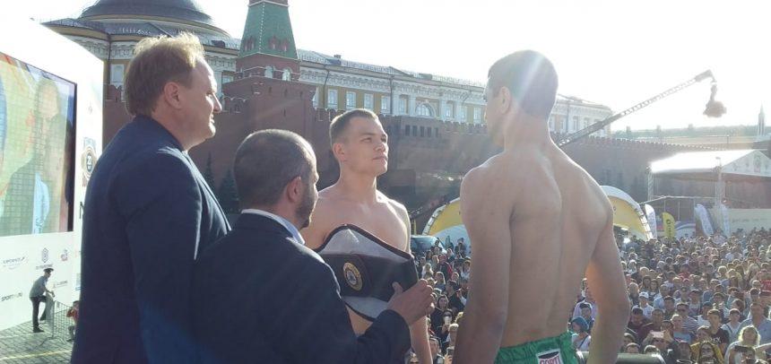 Maderna y Chudinov en peso en Moscú