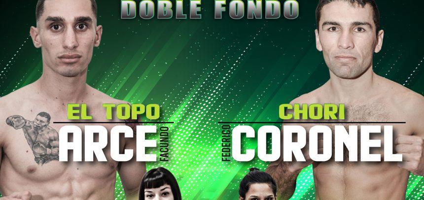Arce-Coronel y López-Gómez este viernes en Luis Guillón