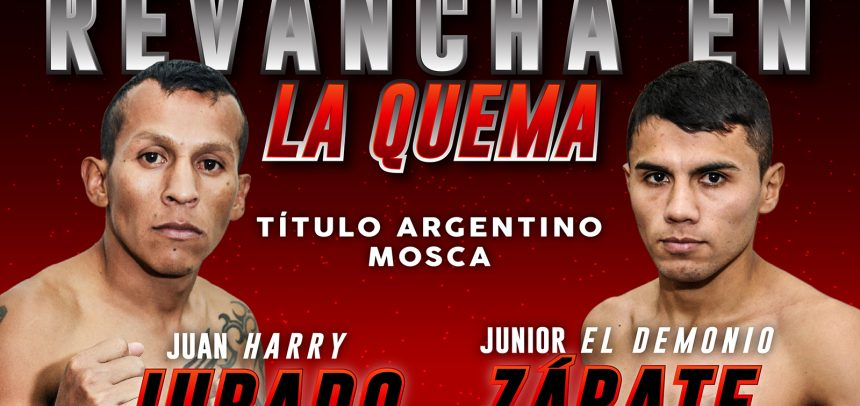 Jurado against Zárate rematch on Saturday in Buenos Aires