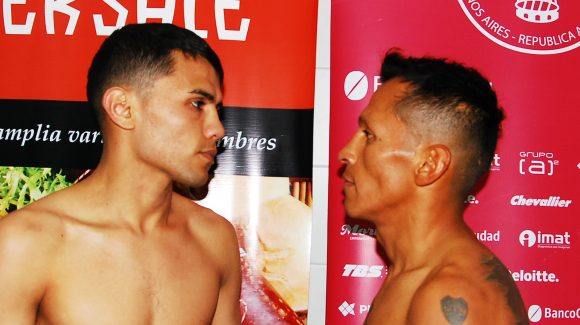 Jurado and Zárate make weight for rematch in Buenos Aires