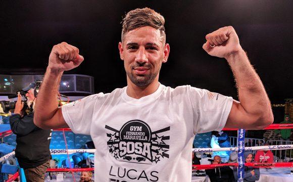"""Lucas """"El Tornado"""" Bastida"""