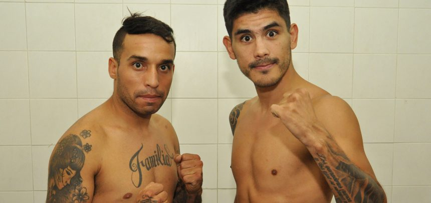 Chucky Verón y Gallo Rojo en peso por título sudamericano en la FAB