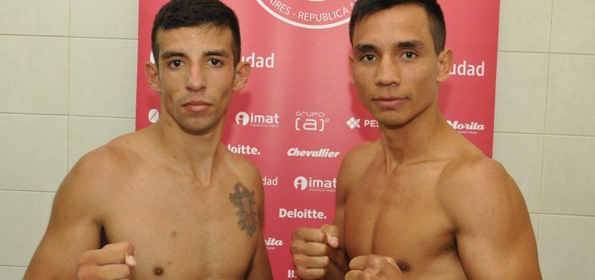 Ojeda y Lozano en peso para gran noche en Huracán