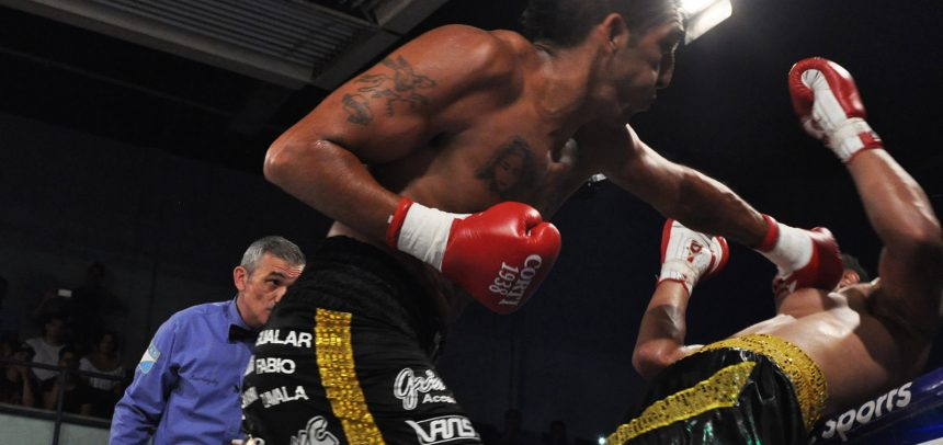 Aumada destroyed Nascimento in the fourth in Buenos Aires