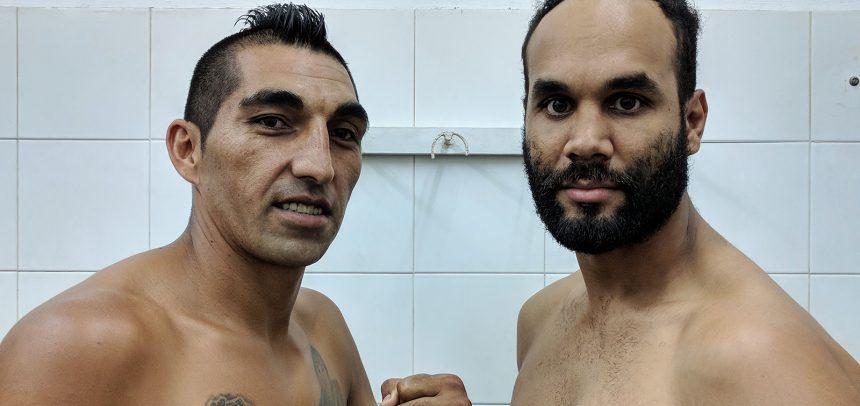 Aumada y Nascimento listos para su duelo en la FAB