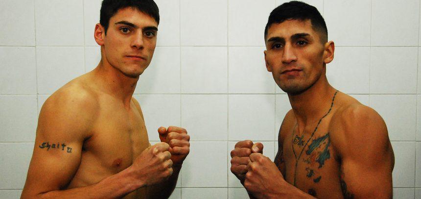 Antín y Daneff listos para la gran noche en Barracas