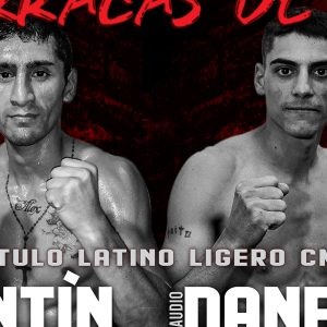 César Antín faces Claudio Daneff on Friday in Buenos Aires