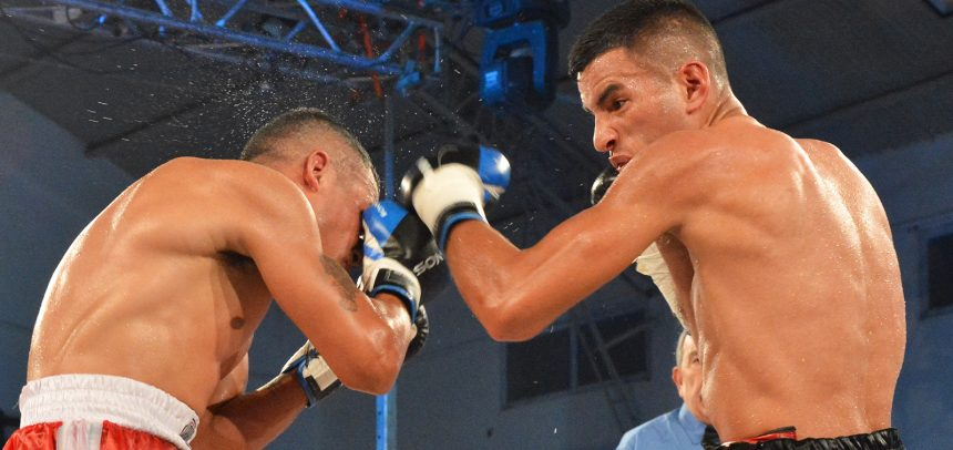 Luis Verón dominated Maxi Verón but the bout ended in a draw