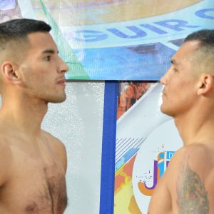 Lucho Verón and Maxi Verón make weight in Cutral Có