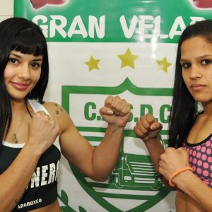Anahí López and Débora Gómez make weight in Luis Guillón