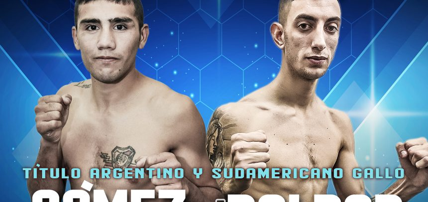 Gómez against Baldor for two titles on Friday in Buenos Aires
