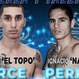 Facundo Arce ante Ignacio Perrín este viernes en Barracas
