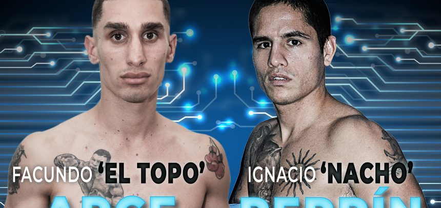 Facundo Arce against Ignacio Perrín on Friday in Buenos Aires