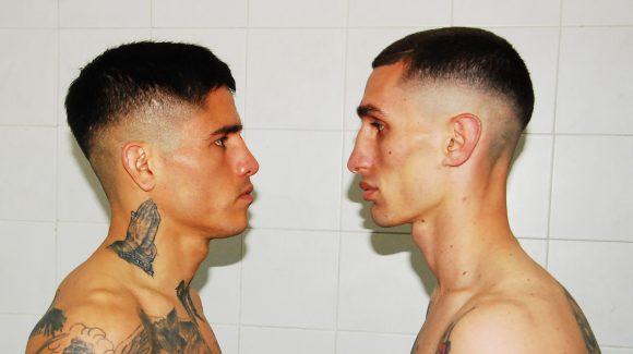 Arce y Perrín en peso por el título en Barracas