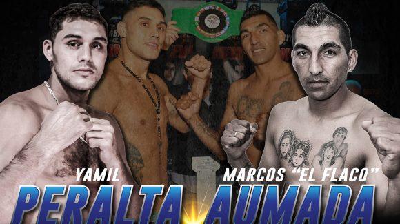 Peralta expone ante Aumada en revancha el viernes en Barracas