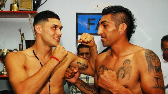 Peralta y Aumada en peso para su revancha en Barracas