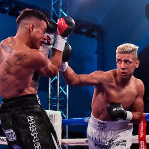 Bastida destroyed Chaparro in one round in Mar del Plata