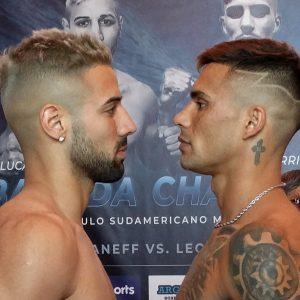 Bastida y Chaparro en peso por el título en Mar del Plata