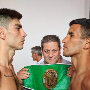 Verón and Aquino ready for their rematch in Mar del Plata