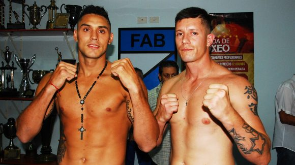 Peralta and Balmaceda ready for battle in Los Polvorines