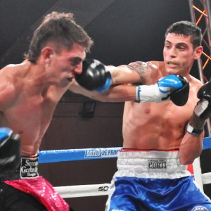 Daneff dominated Gerbaldo, Andino outboxed Tejada