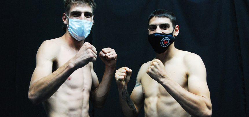 Daneff-Gerbaldo, Andino-Tejada on weight for great show