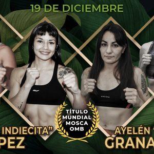 López-Granadino y Abellaneda-Alaniz encabezan gran velada el sábado