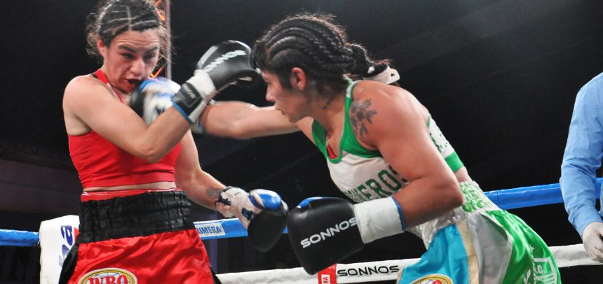 López dominated Granadino and defended her crown