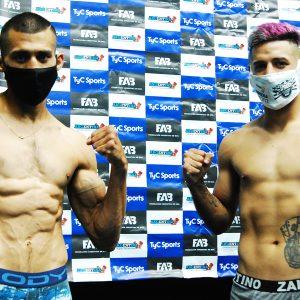 Bastida-López y Peralta-Schmitt en peso para gran noche
