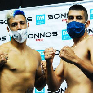 Bastida-Peralta and Córdoba-Coggi on weight for great show