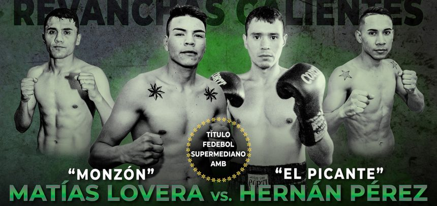 Lovera-Pérez and Zárate-Silva headline great show on Friday
