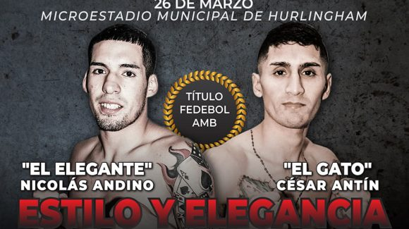 Andino against Antín headlines great show on Friday