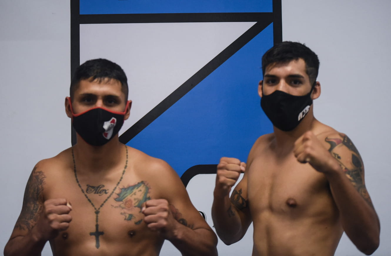 Nicolás Andino vs. César Antín - Mario Margossian