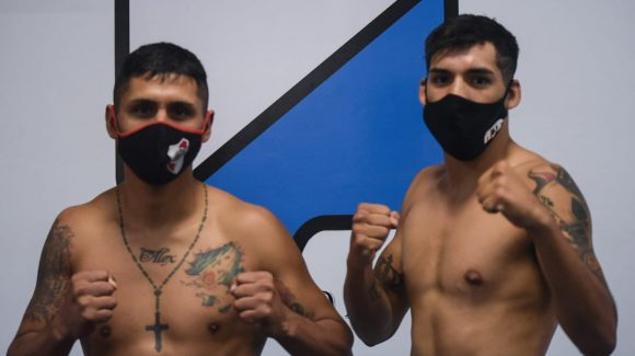 Andino and Antín ready weight for great show