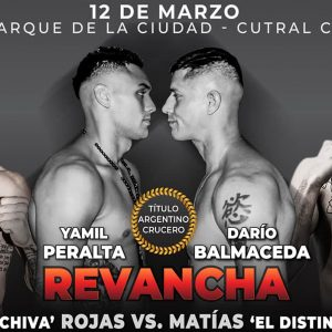 Peralta-Balmaceda II y Rojas-Leiva este viernes
