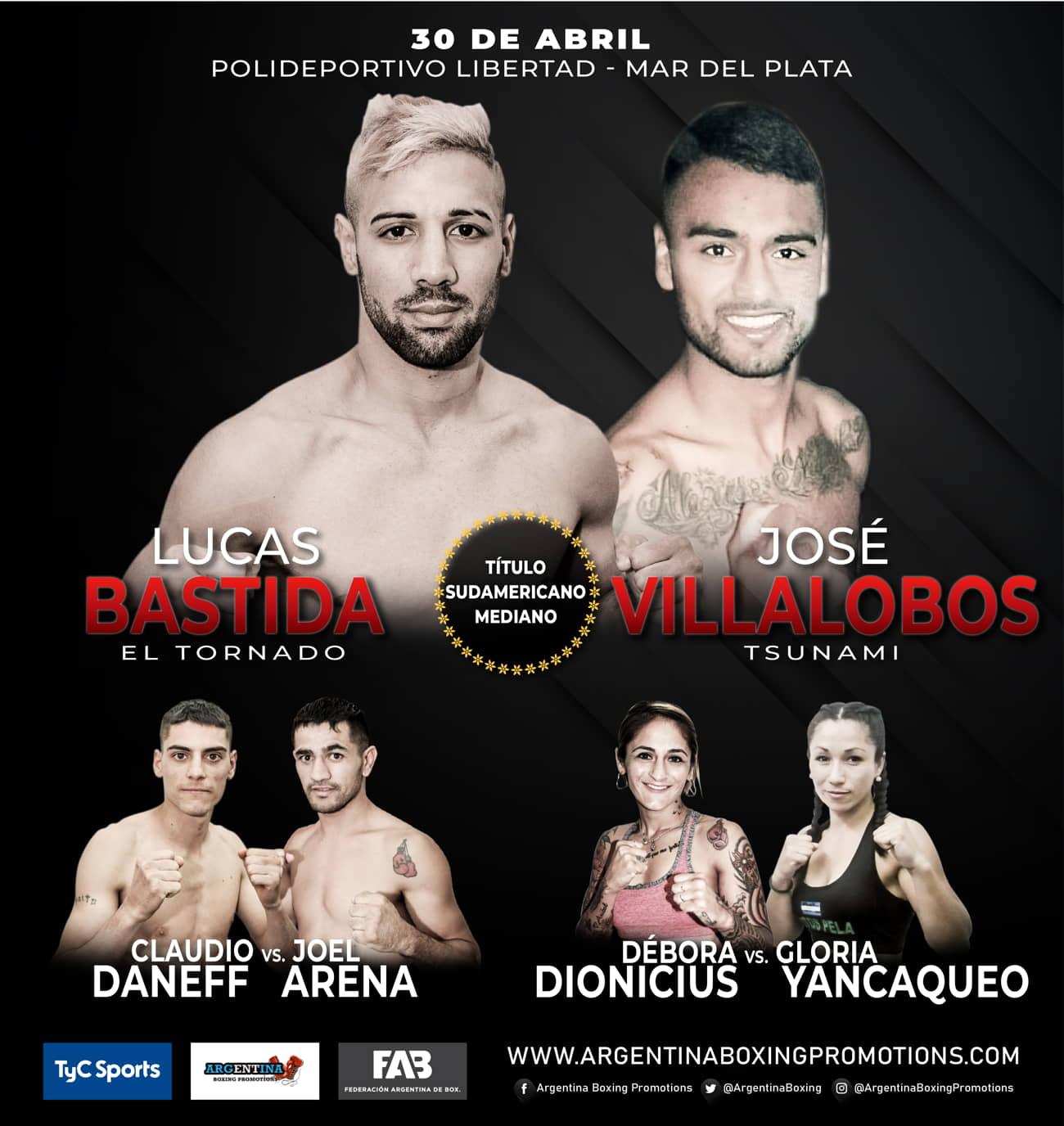 Lucas Bastida vs. José Villalobos - Mario Margossian