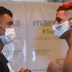 Bastida and Villalobos on weight for great show