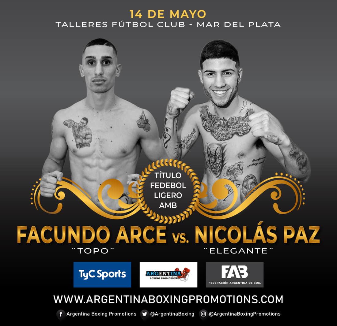 Facundo Arce vs. Nicolás Paz - Mario Margossian