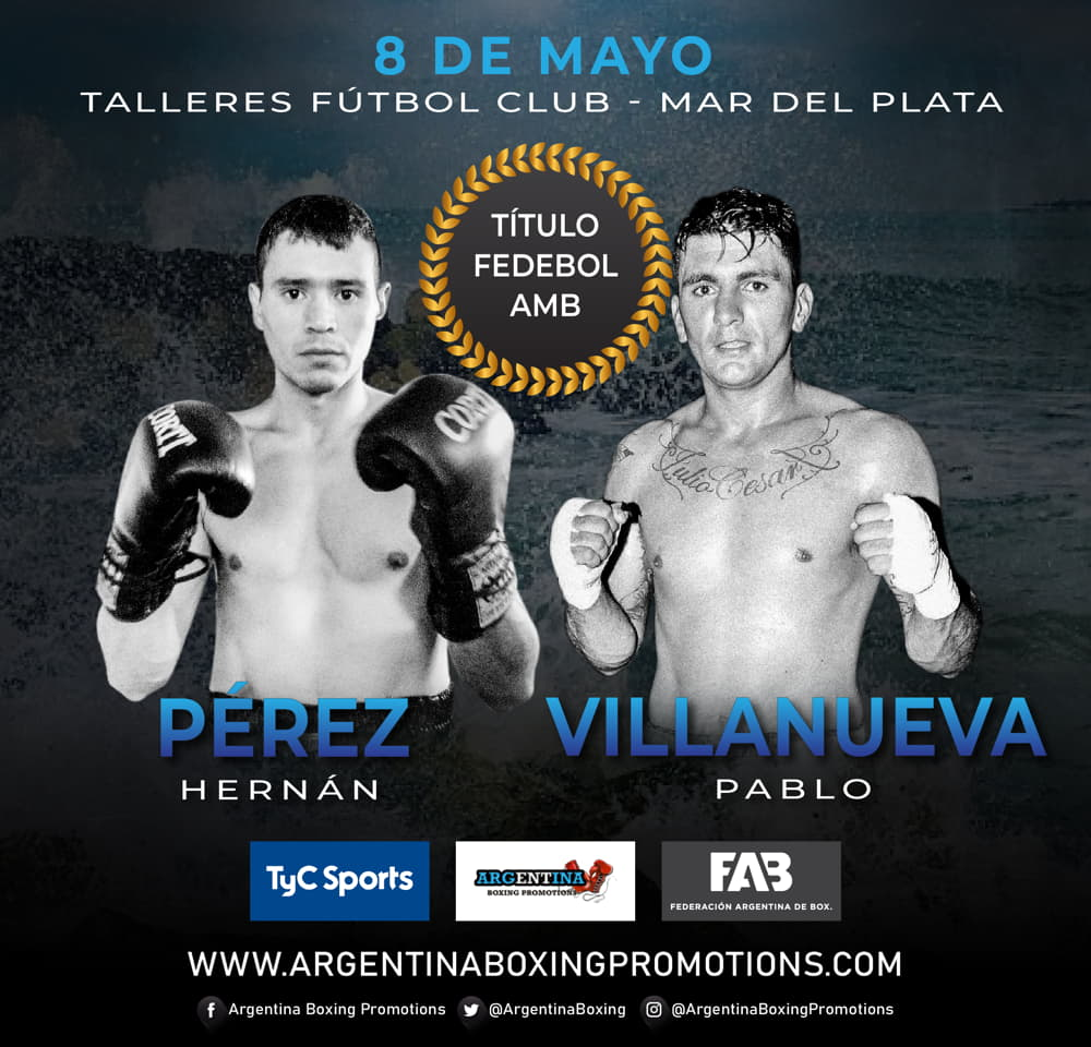 Hernán Pérez vs. Pablo Villanueva - Mario Margossian