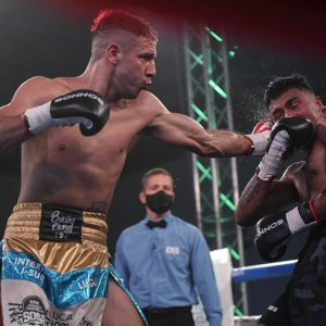 Bastida dominated Villalobos and retained his crown