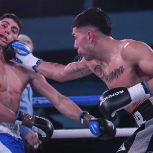 Quintana noqueó a Daneff en gran pelea, Peralta dominó a Karalitzky