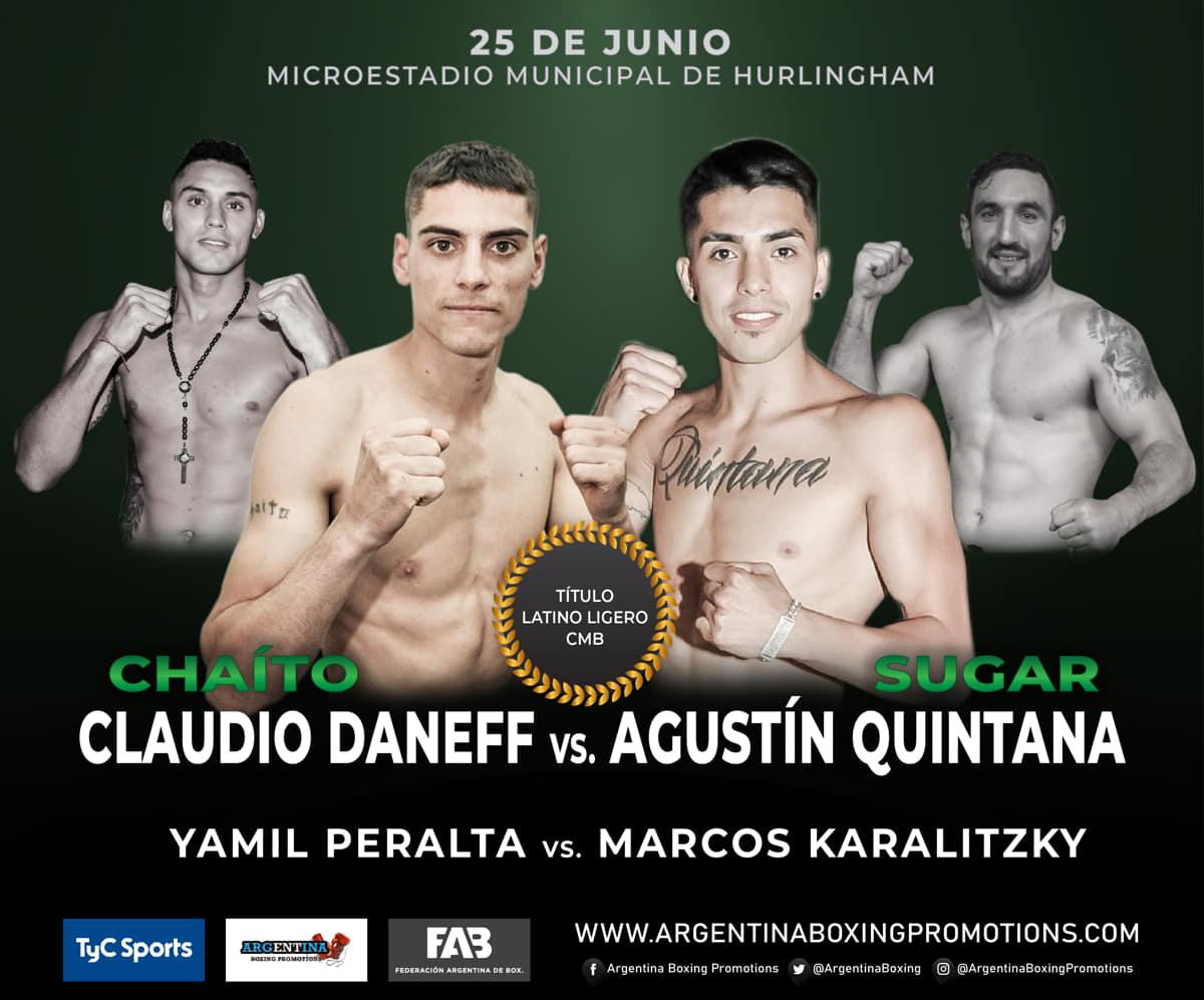 Claudio Daneff vs. Agustín Quintana - Mario Margossian