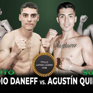 Daneff-Quintana y Peralta-Karalitzky II el viernes