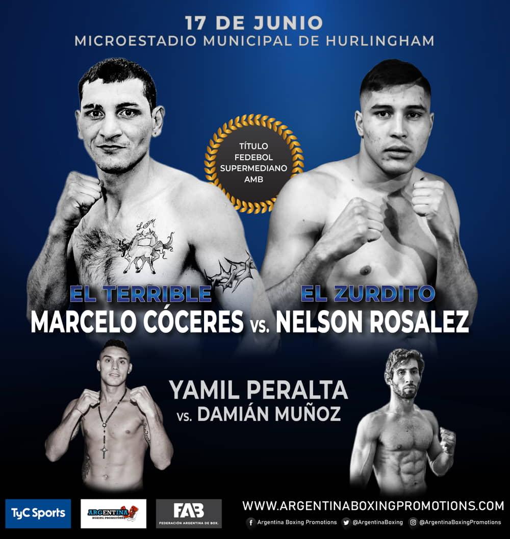 Marcelo Cóceres vs. Nelson Rosalez - Mario Margossian