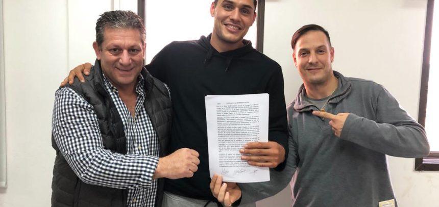 Yamil Peralta extendió y firmó contrato multianual con ABP
